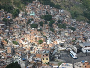 One of the many favela's in Brazil -justinknabb